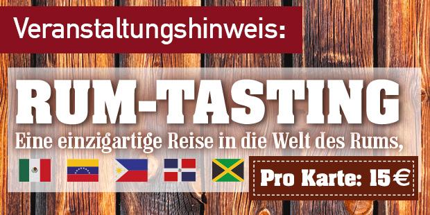 """""""RUM-TASTING"""" in Büren"""