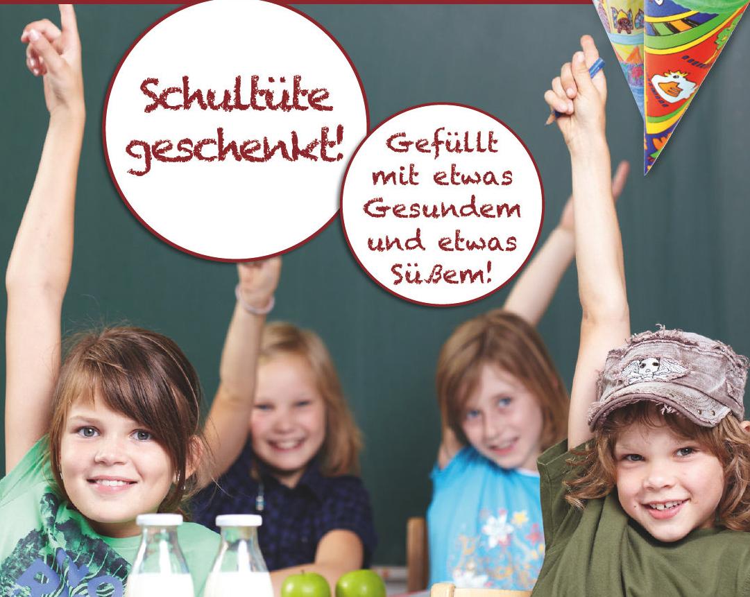 Schultütenaktion am 30.08.2018 im Marktkauf in Marsberg