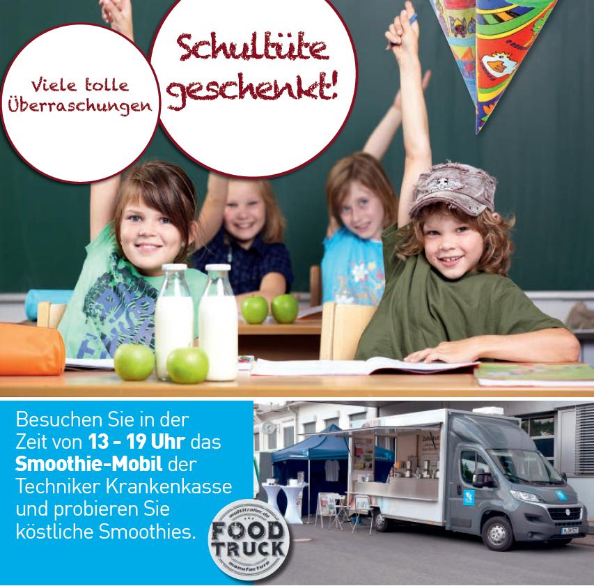 Schultütenaktion am 28.08.2018 im Marktkauf in Büren